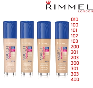 Rimmel London Match Perfection Foundation SPF20 Podkład 30ml